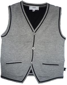 713aca7b4b609 Hugo Boss Grey Waistcoat Designer Kids Clothes, Baby Boy Fashion, Hugo Boss,  Little