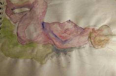 Woman 3, watercolor