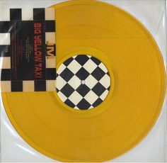 """For Sale - Joni Mitchell Big Yellow Taxi - Yellow Vinyl USA Promo  12"""" vinyl single (12 inch record / Maxi-single) - See this and 250,000 other rare & vintage vinyl records, singles, LPs & CDs at http://eil.com"""