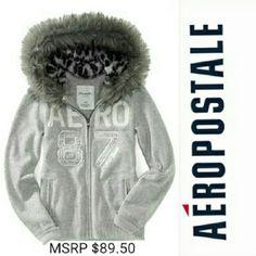 9bdba251efb24c Aeropostale gray leopard full zip Hoodie Get  Aeropostale Hoodies from me  on  Vinted.