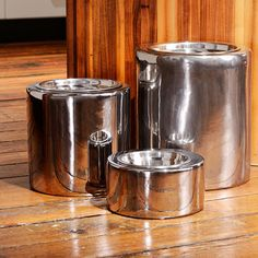 Unleashed Life High-Rise Nickel Collection Pet Bowls