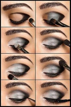 Easy Prom Makeup Idea For Green Eyes