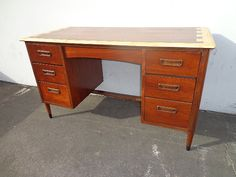 gateleg table with hideaway chairs | ... Mid Century ...