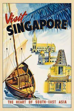 61 Best Singapore images   Singapore, Singapore art, Merlion