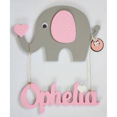 Baby Shower Deco, Baby Shower Winter, Nursery Signs, Nursery Decor, Baby Decor, Kids Decor, Baby Shawer, Name Plaques, Baby Elephant