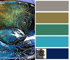 Turquoise Decorating Colors... Tuscan coastal colors