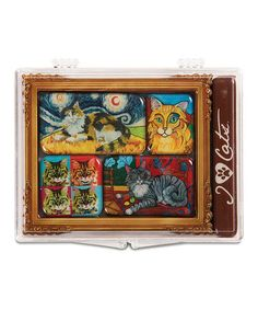 Take a look at this Longhair Cats Magnet Set by Pavilion Gift Company on #zulily today!