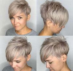 Popular Hairstyles, Latest Hairstyles, Pixie Haircut, Hairstyles Haircuts, Summer Hairstyles, Braided Hairstyles, Wedding Hairstyles, Medium Hair Styles, Short Hair Styles