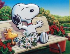 Snoopy and Woodstock Snoopy Love, Charlie Brown And Snoopy, Snoopy And Woodstock, Baby Snoopy, Gifs Snoopy, Snoopy Quotes, Peanuts Cartoon, Peanuts Snoopy, Peanuts Thanksgiving