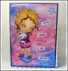 Nins Handmade Cards: Oddball Art Stamps Facebook Reminder