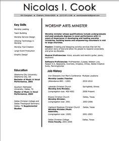 worship leader resumes valuebook co