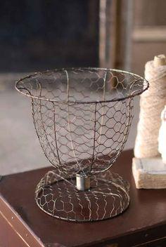 French Wire Urn