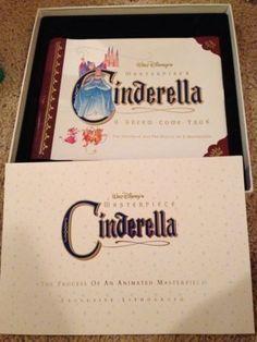 Disney-Cinderella-Deluxe-CAV-Letterbox-Edition-Laserdisc-Box-Art-Book
