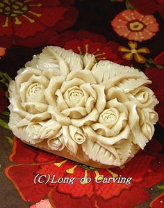 Carved Soap ~ Beautiful!