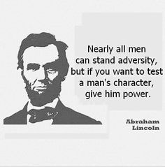"""Nice quote on #character, #reputation. Also read this article on Forbes today """"A good host makes the best leader"""""""