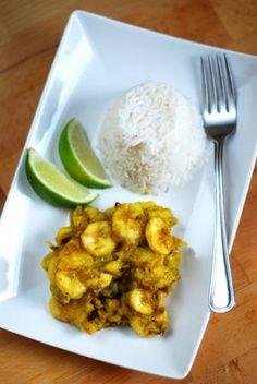Bananowe curry - przepisy.net