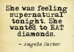 Angela Carter, literary lion