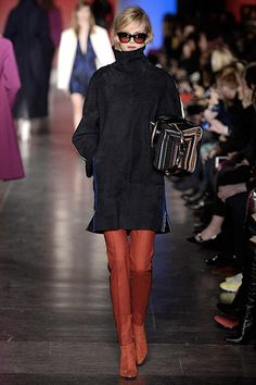 Paul Smith Fall 2013: Colour on colour- booties with pants. Sporty Elegant.
