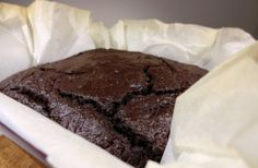 Brownies without flour, butter, and added sugar. Use apple sauce instead of adding sugar, coconut oil instead of butter, and grind oats to use as flour.