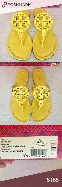 e87e27b35990b NIB✨Tory Burch Miller Sandals Unique  amp  Brand New✨Tory Burch Miller  Sandals
