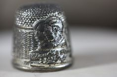 Vintage Sewing Thimble Prince Charles & by BlackMountainRainbow