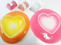 DIY How to make color - changing Slime!! 색깔이 변하는 액체괴물 만들기