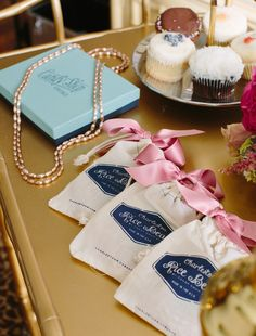 Charleston Rice Beads from Candy Shop Vintage - perfect bridal party gifts for a #charleston destination wedding!