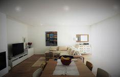 CASA HEITOR por Jesus Correia Arquitecto | homify Corner Desk, Flat Screen, Furniture, Home Decor, Townhouse, Good Ideas, Dinner, Houses, Casa De Campo