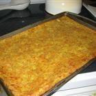 Summer Squash Pizza Crust Recipe