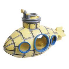 $7.19 @ PetSmartTop Fin Yellow Submarine Aquarium Ornament | Ornaments | PetSmart