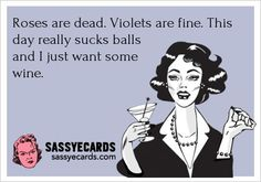 How I usually feel about Valentine's Day, regardless of my relationship status.  lol