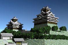 米子城 Japanese Castle, Japanese Art, Statue Of Liberty, Tower, Culture, Architecture, Building, Castles, China