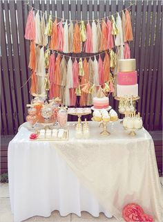50 Out of this world dessert table ideas to inspire you! #weddingchicks…