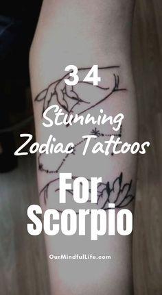 35 Low-key Gorgeous Scorpio Tattoos That You Can't Take Your Eyes Off, – taurus constellation tattoo Scorpio Sign Tattoos, Scorpio Constellation Tattoos, Scorpio Symbol, Astrology Tattoo, Horoscope Tattoos, Capricorn Tattoo, Scorpio Star, Zodiac Signs Scorpio, Scorpio Female