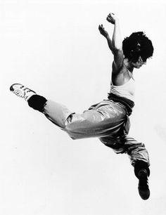 Twyla Tharp, contemporary ballet & modern dance choreographer.