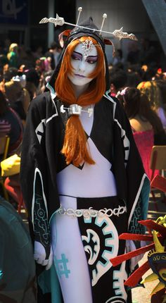 Midna Twilight princess cosplay (The legend of Zelda Twilight princess) Cosplay Tutorial, Cosplay Diy, Best Cosplay, Cosplay Girls, Cosplay Ideas, Anime Cosplay, Cool Costumes, Cosplay Costumes, Video Game Costumes