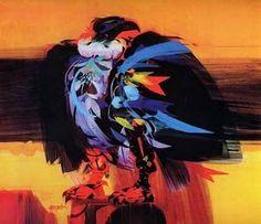 Uno de los más destacados personajes de la pintura colombiana es el maestro Alejandro Obregón, de padre colombiano y madre catalana, nacido en España en el Colombian Art, Geometric Symbols, Painting Gallery, American Artists, Pet Birds, Art Pictures, Painting & Drawing, Amazing Art, My Arts