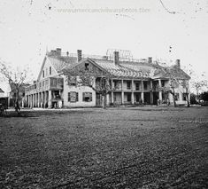 Savannah, Georgia. United States barracks. Date Created/Published: 1865.