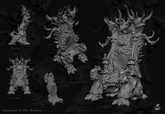 ArtStation - Throne, Youngmin Ham