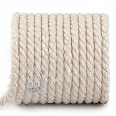 Bavlnená šnúra točená 8 mm