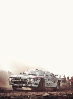 Lancia 037...the last great RWD rally car? #GotRacing? Get #RacingFriday with #Rvinyl at blog.rvinyl.com