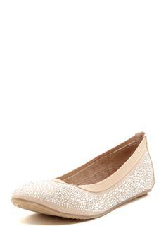 Crystal Ballet Flat