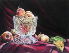 """""""Past their Prime"""" – Amy Ready Rebella  8x10  Colored Pencil on Illustration Board"""