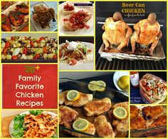 20+ family favorite chicken recipes OVER 20 recipes that are TRIED & TRUE and waiting to make your meal planning easier! #chicken