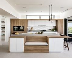 DOMINO:10 Kitchens That Will Make You Forget What You Know About Concrete Quartz Countertops