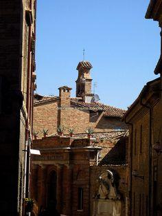 Urbino: Fontana dedicata a Papa Benedetto XIII e Orto Botanico - Marche, Italy