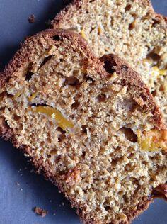 Mango and banana bread