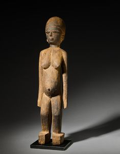 Bonhams Fine Art Auctioneers & Valuers: auctioneers of art, pictures, collectables and motor cars Arched Eyebrows, Art Africain, 3 In One, African Art, Brown And Grey, Witch, Arms, Auction, Ocean