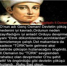 Osmsnlı#padişah#ll.osman#türk# genç # Sultan Ottoman, The Turk, Wtf Fun Facts, Ottoman Empire, True Religion, Did You Know, Karma, Don't Forget, Islam