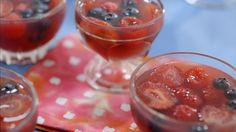 Jello maison | Cuisine futée, parents pressés Quebec, Dessert Aux Fruits, Cold Meals, Mousse, Caramel, Pudding, Sweets, Snacks, Cooking
